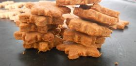 mrkvové psí sušenky